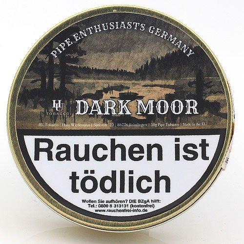 HU Tobacco Dark Moor Pfeifentabak 50g Dose