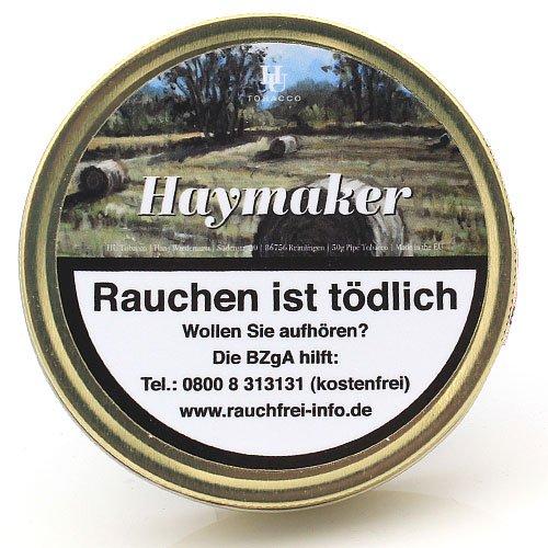 HU Tobacco Haymaker Pfeifentabak 50g Dose