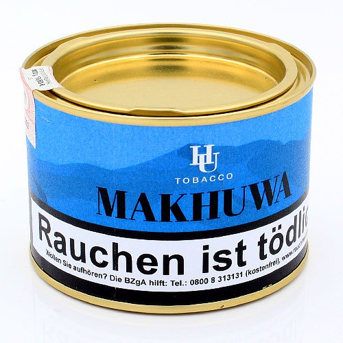 HU Tobacco Makhuwa Pfeifentabak 100g Dose