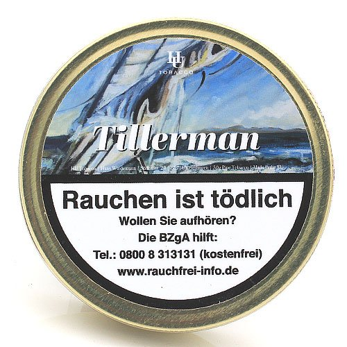 HU Tobacco Tillerman Pfeifentabak 50g Dose