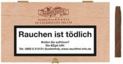 Handelsgold Fehlfarben No 130 Brasil Cigarren 50 Stück