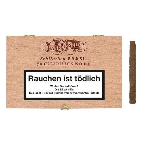 Handelsgold Fehlfarben No 140 Brasil Cigarren 50 Stück