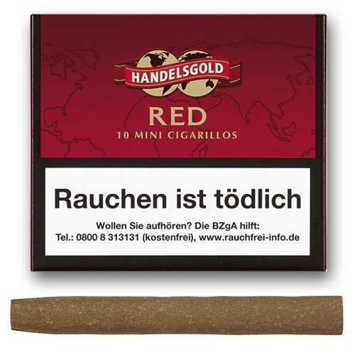 Handelsgold Zigarillos Mini Red  Cherry