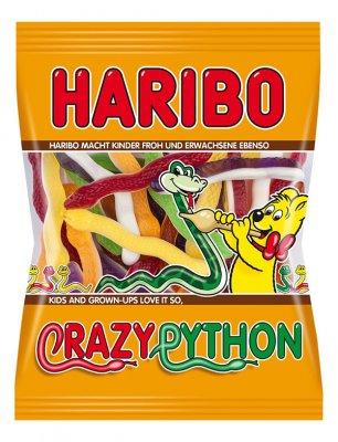 Haribo Crazy Python 175g Beutel