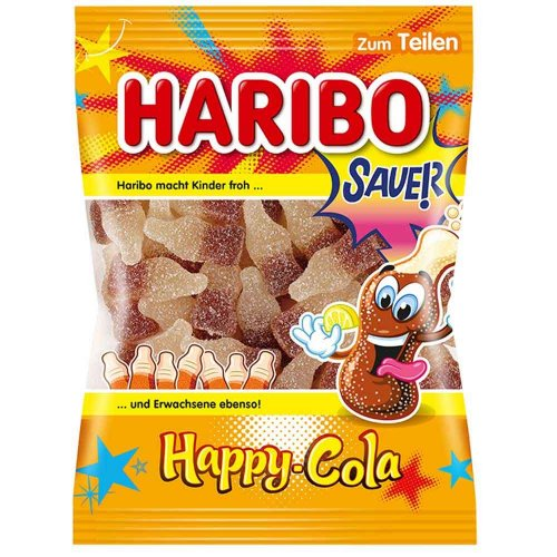 Haribo Happy Cola Sauer 200g Beutel