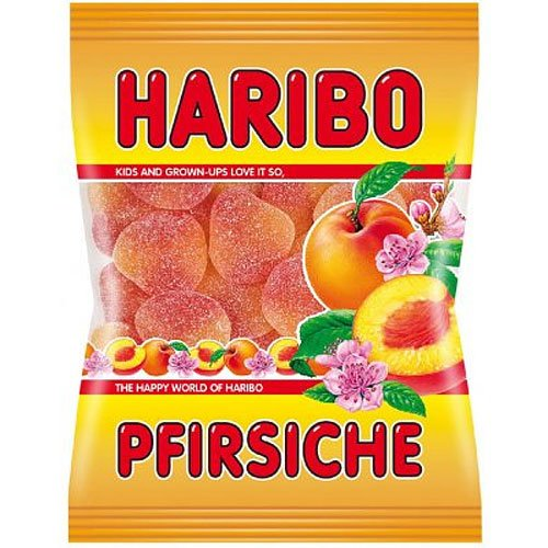 Haribo Pfirsiche 200g Beutel