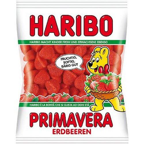 Haribo Primavera Erdbeeren 200g Beutel