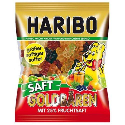Haribo Saft Goldbären 175g Beutel
