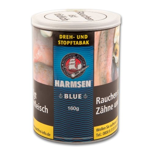 Harmsen Tabak Blau Halfzware 150g Dose Zigarettentabak