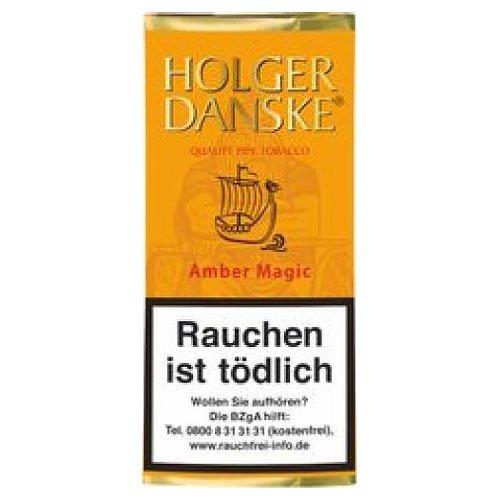 Holger Danske Pfeifentabak Amber Magic (Magic Vanilla) 40g Päckchen