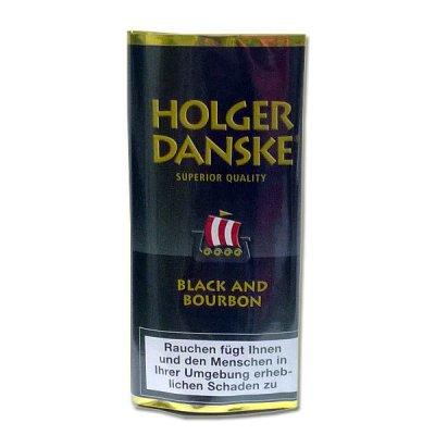 Holger Danske Pfeifentabak B.B. (Black & Bourbon) 40g Päckchen
