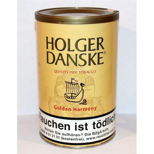 Holger Danske Pfeifentabak Golden Harmony (Mango & Vanilla) 250g Dose