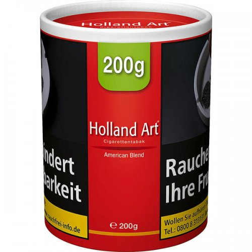 Holland Art Tabak American Blend 200g Dose Zigarettentabak