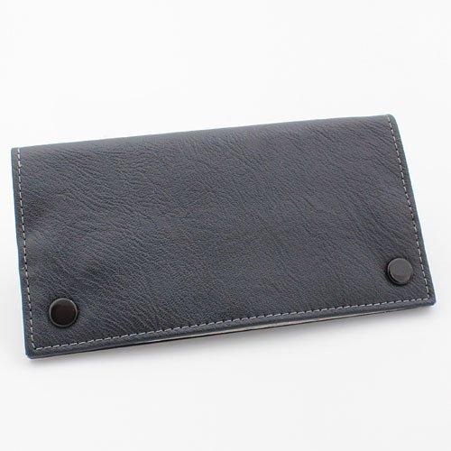 JAM Feinschnitt Tasche Kunstleder schwarz mit weißer Naht