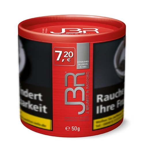 JBR Tabak John Brumfit & Radford 50g Dose Zigarettentabak