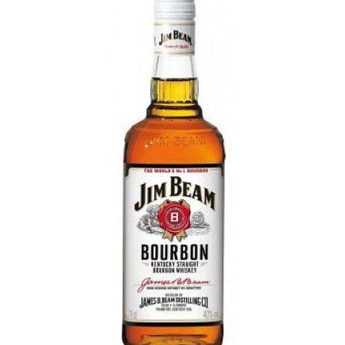 Jim Beam White Glas/EW 0,7 l 40%vol. Alkohol