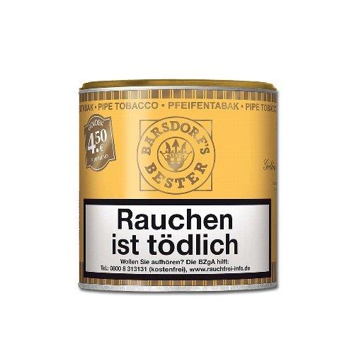 Käptn Barsdorf Bester Pfeifentabak Golden Pipe Blend (ehem. Honey and Rum) 50g Dose