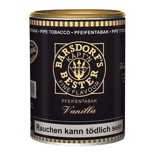 Käptn Barsdorf Bester Pfeifentabak Yellow (ehem. Vanilla) 160g Dose