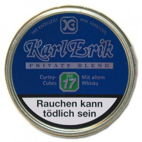 Karl Erik Pfeifentabak Private Blend No. 17 100g Dose