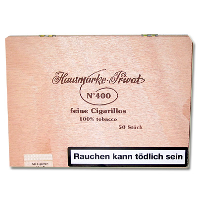 Kleinlagel Zigarillos Hausmarke Sumatra No. 400, 50er