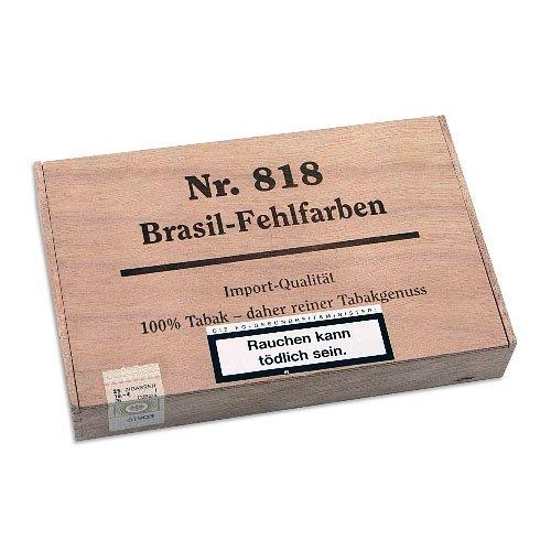 Kleinlagel Zigarren Fehlfarben Nr. 818 Brasil 25er