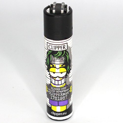 Clipper Feuerzeug Clipper Man 1 4v4 Grüne Haare