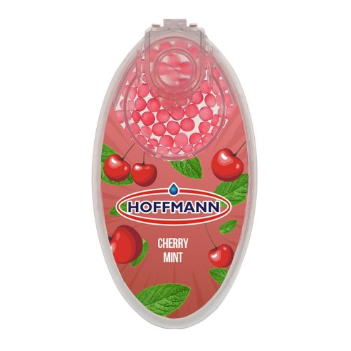 Hoffmann Cherry Mint Aromakapseln 1 x 100 Stück Kapseln mit Einführhilfe