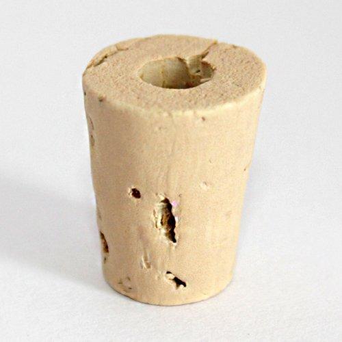 Korken für Schnupftabak Flasche Steingut Konisch (18x14 auf 11mm)