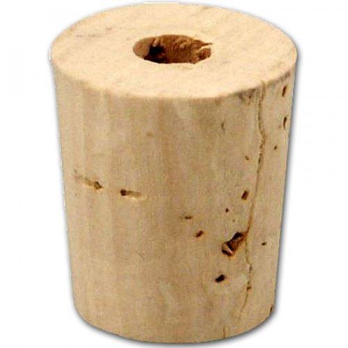 Korken für Schnupftabak Flasche Steingut Konisch (22x19 auf 16mm)
