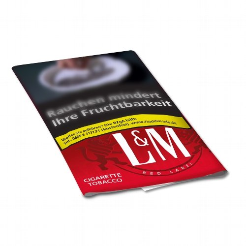 LM Tabak Red 30g Päckchen Feinschnitt