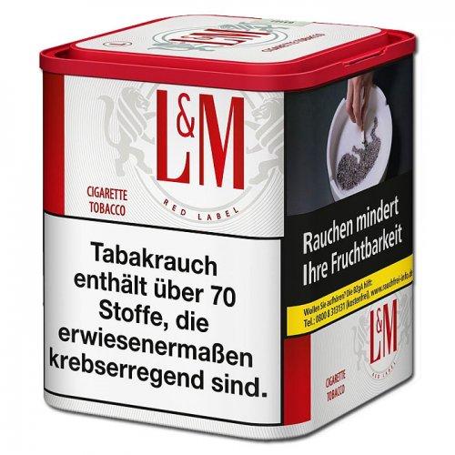 LM Tabak Red 90g Dose Feinschnitt