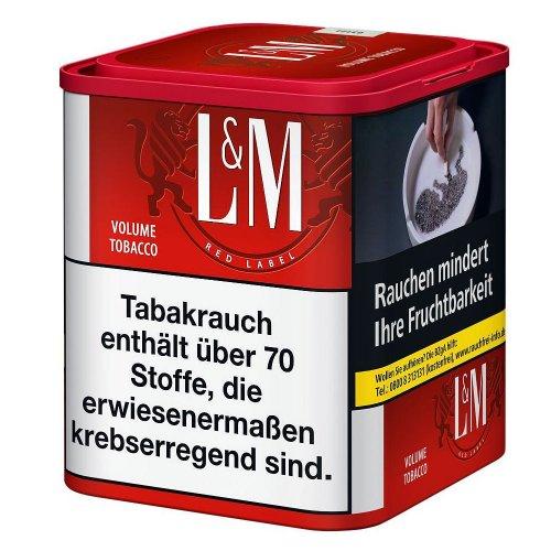 LM Volumentabak Rot 45g Dose Zigarettentabak