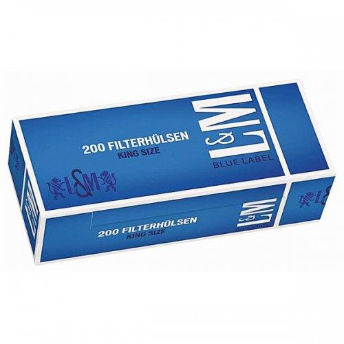 L&M Zigarettenhülsen Blue Label 200 Stück