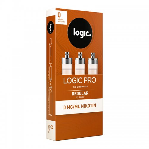 LOGIC PRO Caps Regular Liquid-Kapseln für E-Zigarette Logic Pro 0mg