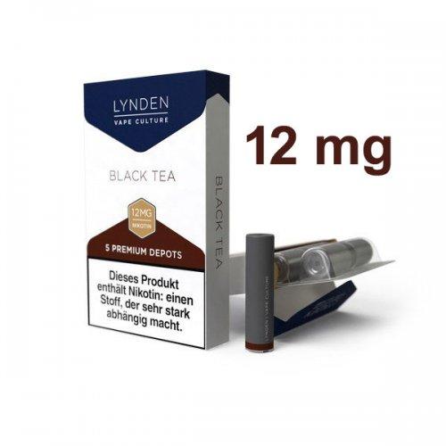 LYNDEN Depots Black Tea Medium 12 mg Nikotin