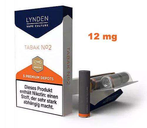 LYNDEN Depots Tabak No 2 Medium 12 mg Nikotin