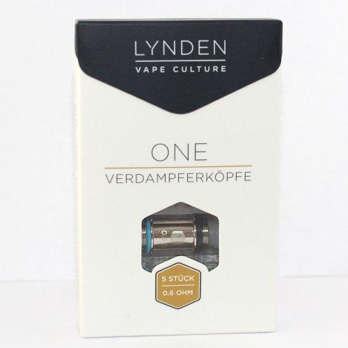 LYNDEN One Verdampferköpfe 0.6 Ohm 5 Stk.