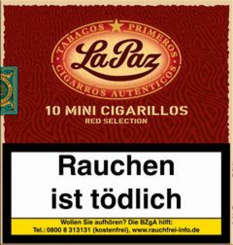 La Paz Mini Red Selection Zigarillos 10 Stück