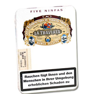 La Traviata Ninfas Cigarren