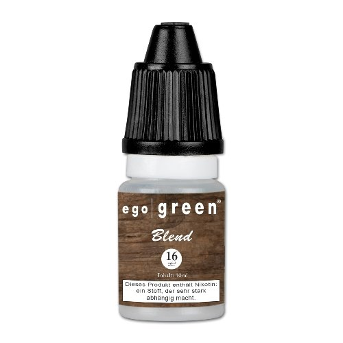 Ego Green Blend Tobacco 16 mg Nikotin