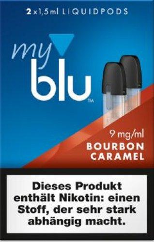 myblu Pods Bourbon Caramel 9mg 2er Pack