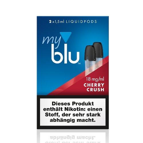 myblu Pods Cherry Crush 18 mg 2er Pack