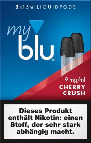 myblu Pods Cherry Crush 9 mg 2er Pack