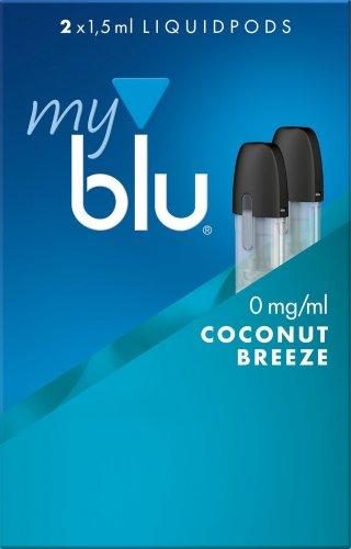 myblu Pods Coconut Breeze 0 mg 2er Pack