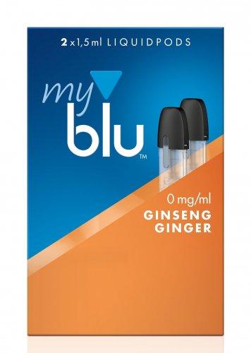 myblu Pods Ginseng Ginger 0 mg 2er Pack