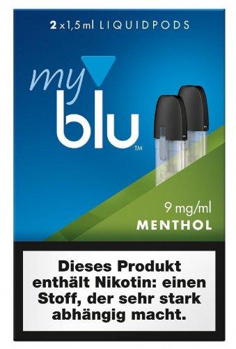myblu Pods Menthol 9 mg 2er Pack