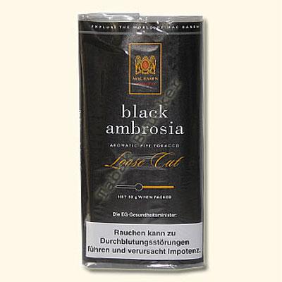 Mac Baren Pfeifentabak Black Ambrosia 50g Päckchen