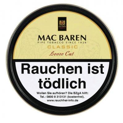 Mac Baren Pfeifentabak Classic Loose Cut 100g Dose