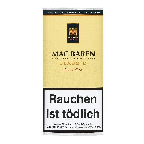 Mac Baren Pfeifentabak Classic Loose Cut 50g Päckchen