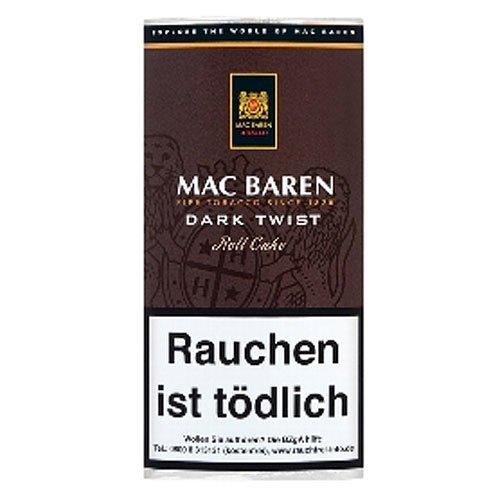 Mac Baren Pfeifentabak Dark Twist 50g Päckchen